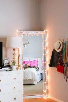 Rope Lighting Ideas Bedroom