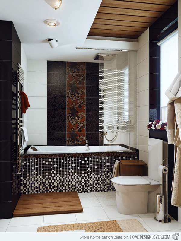 new bathroom tile designs