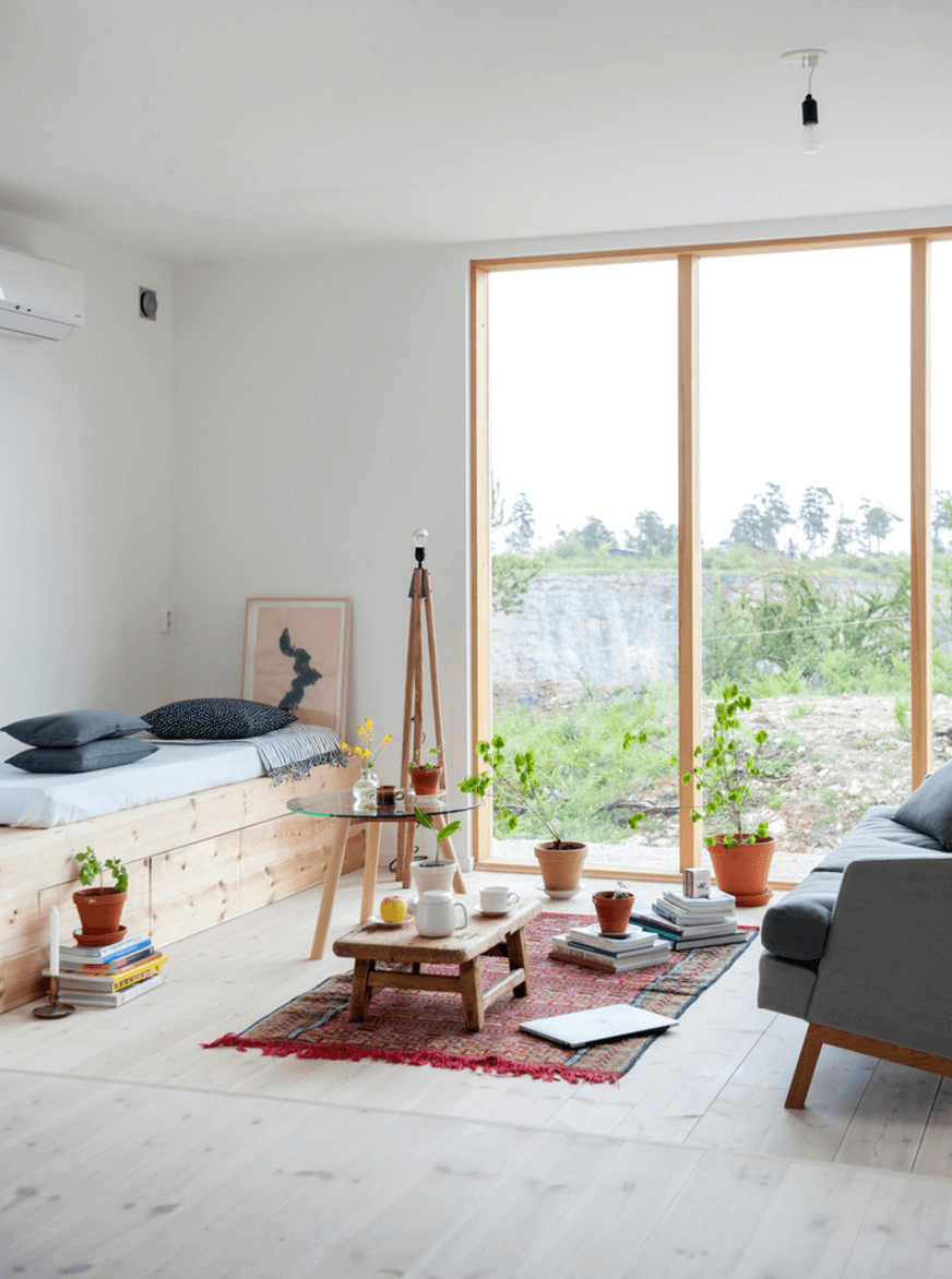 scandinavian design chairs wood