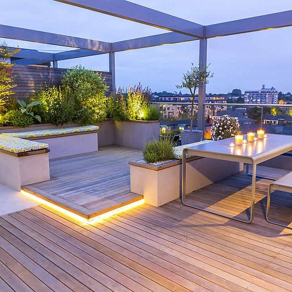 roof terrace bars manchester