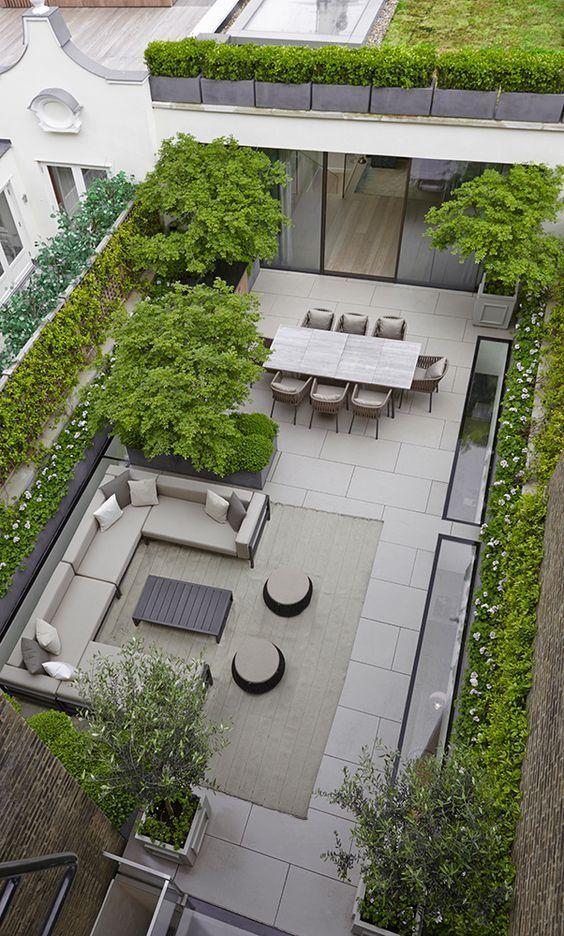 w hotel london roof terrace