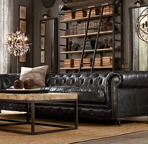 sims 4 industrial living room