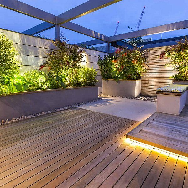 roof terrace glass balustrade