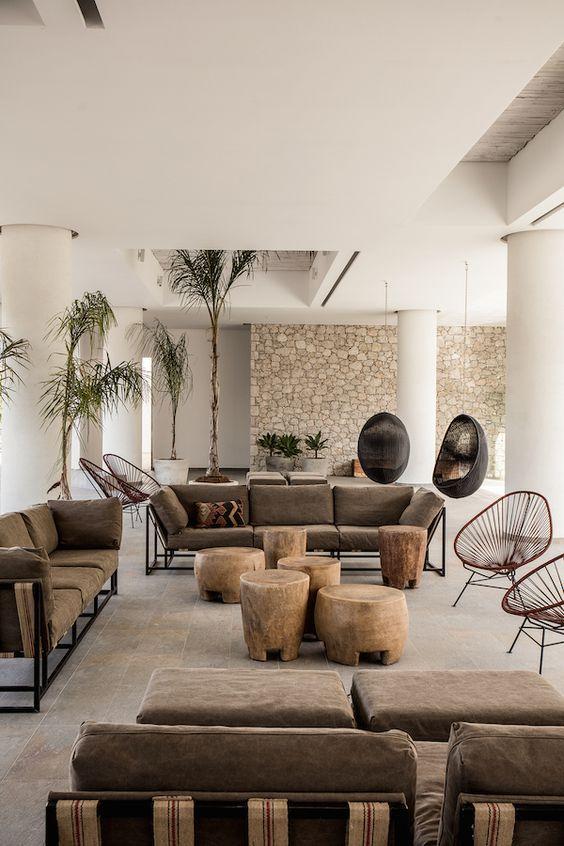 Minimalist Living Dining Room