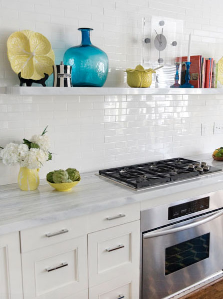Add the Latest Trend in Kitchen Wall Decor — Open Shelving