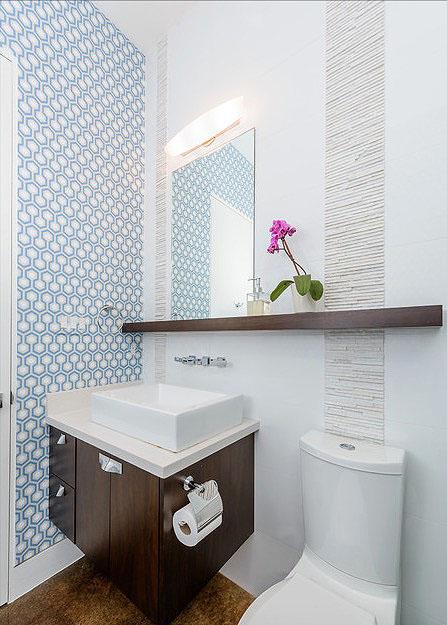 Floating Shelf Bathroom Wall Decor Ideas