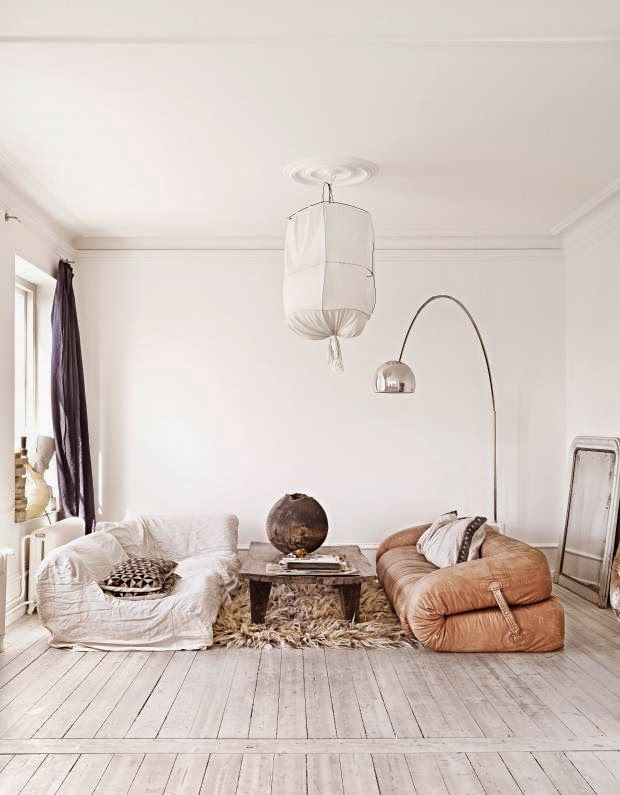 Kate Young Designs bohemian living room Living Room Wall Decor Ideas