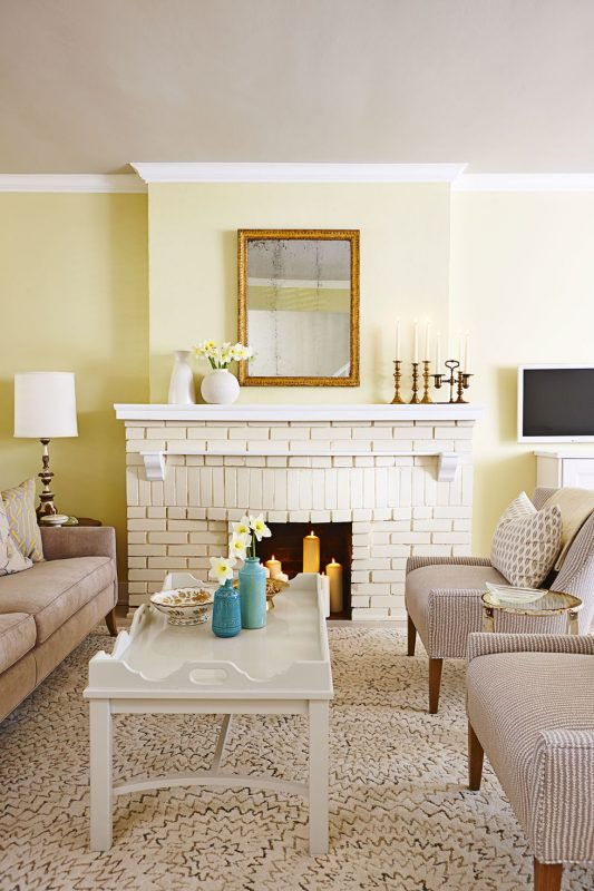 Living Room Wall Decor Ideas fireplace design tricks