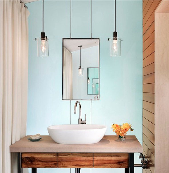Pendant Bath Lights Deco Ideas