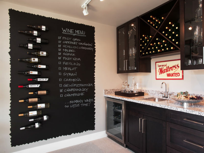 Personalize Your Kitchen With Chalkboard Paint