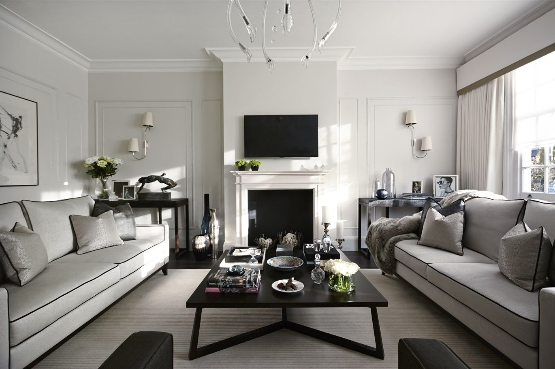 Elegant Minimalist Living Room
