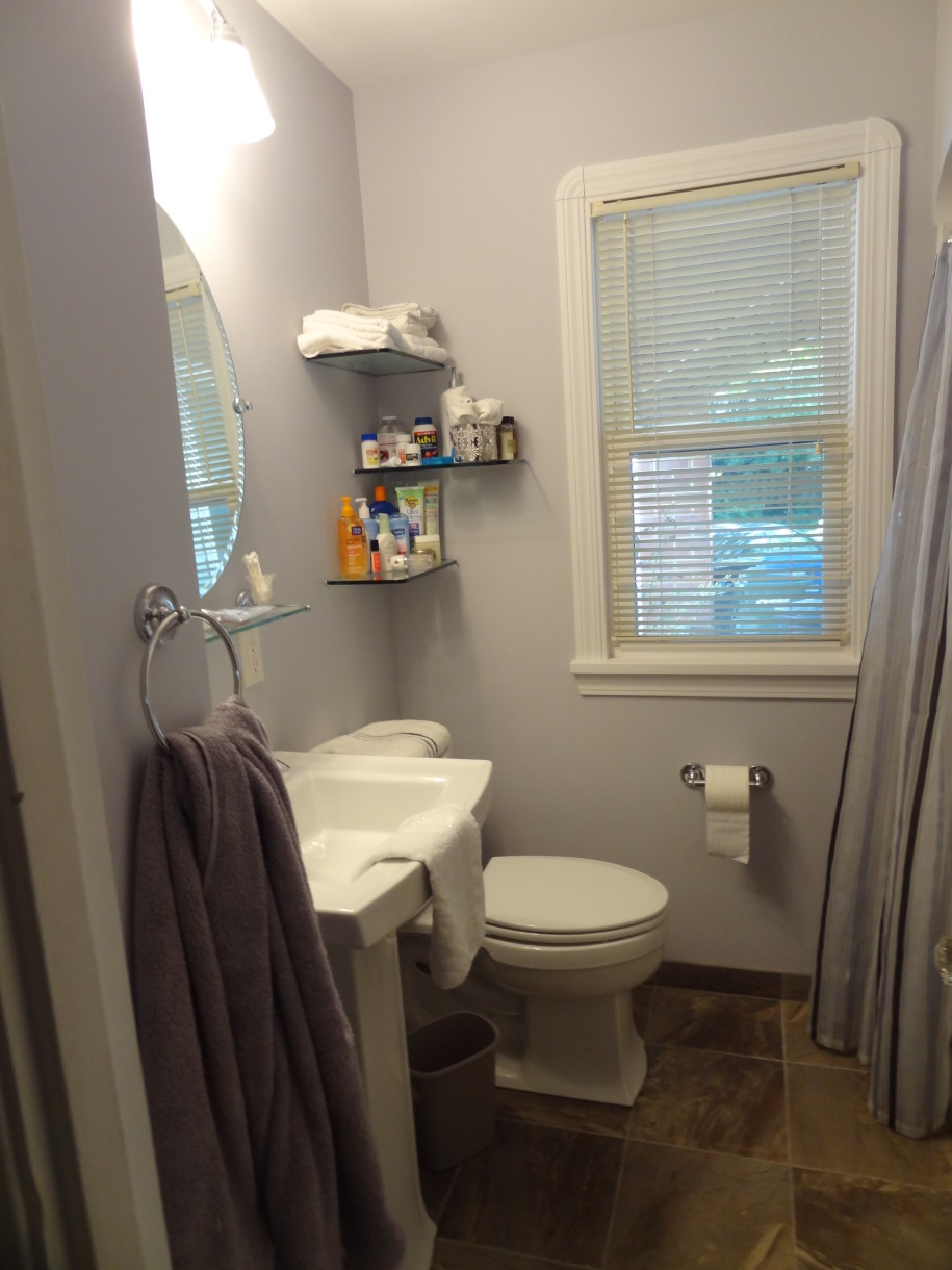 small bathroom reno
