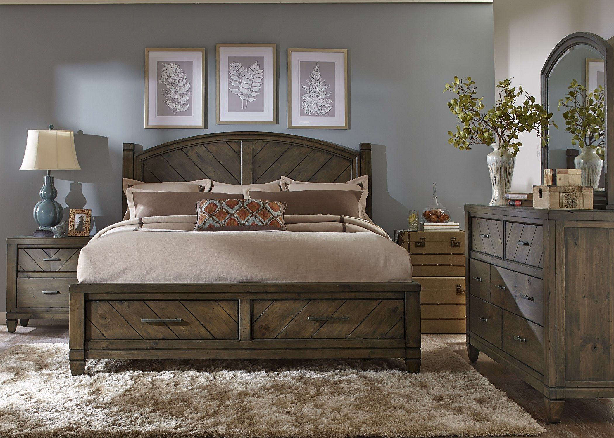 modern country style bedroom ideas
