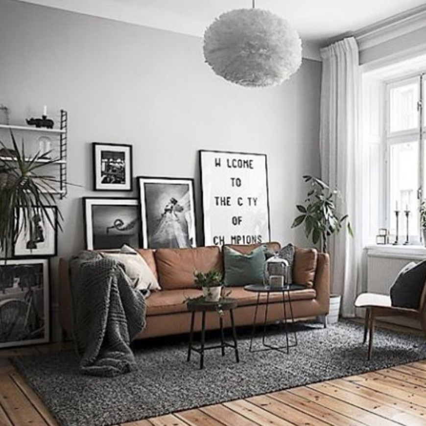 old industrial living room