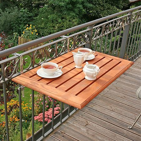 Balcony Table Chair Set