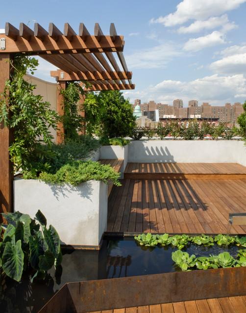 roof garden que significa
