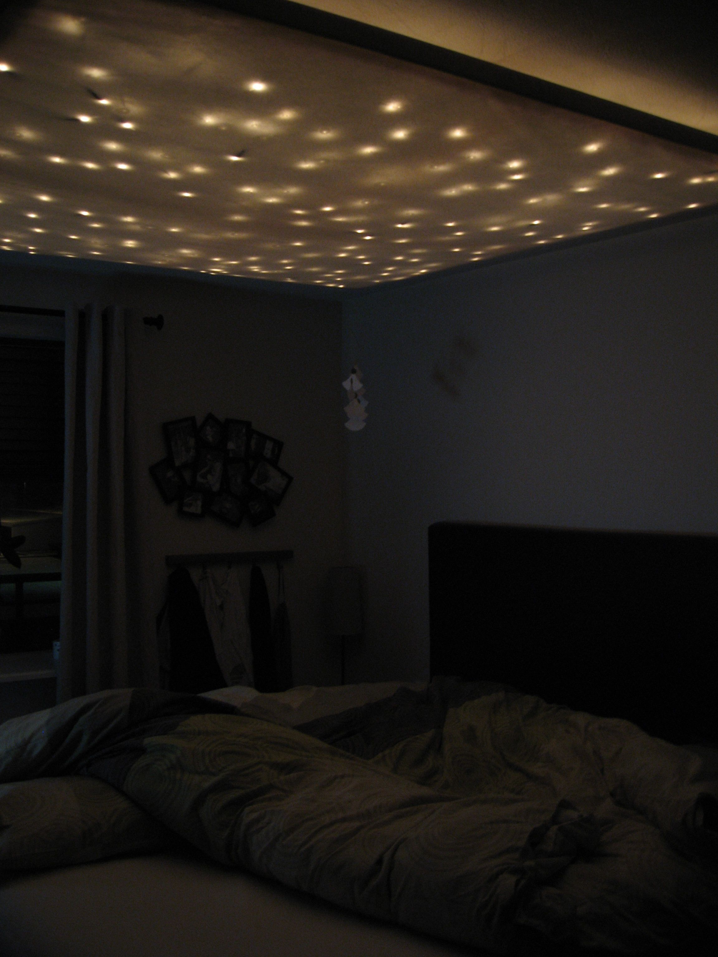 Bedroom Roof Lighting Ideas