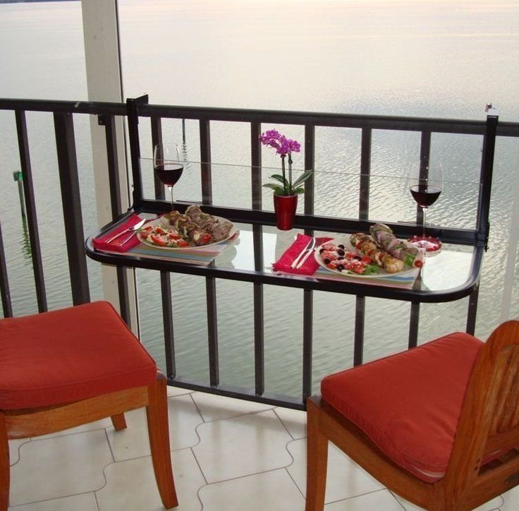 Balcony Height Outdoor Table