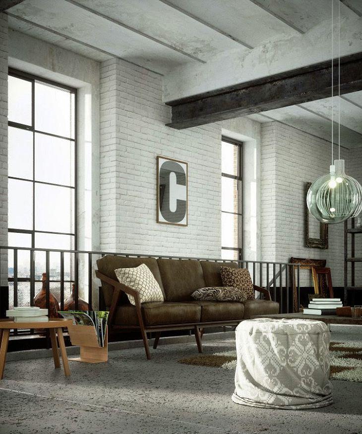 industrial living room fan