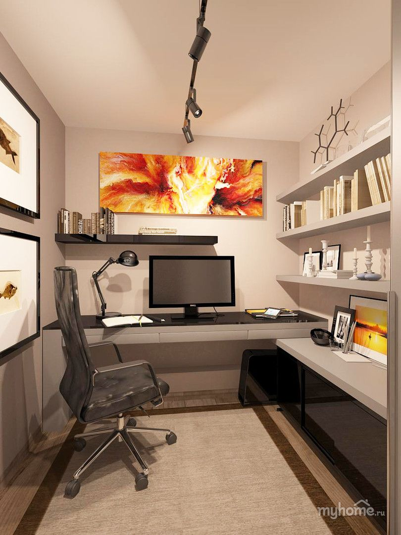 small home office ideas on pinterest