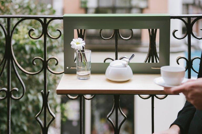 Narrow Balcony Table