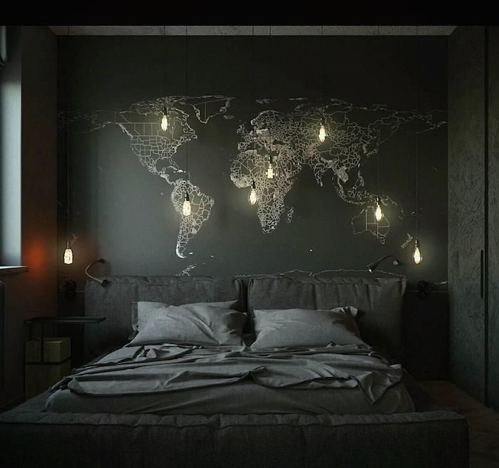 Gray Bedroom Wall Decor