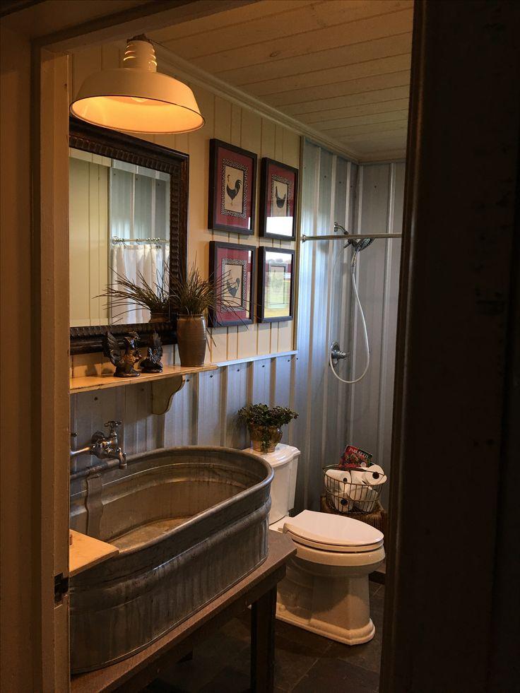 western bathroom decor