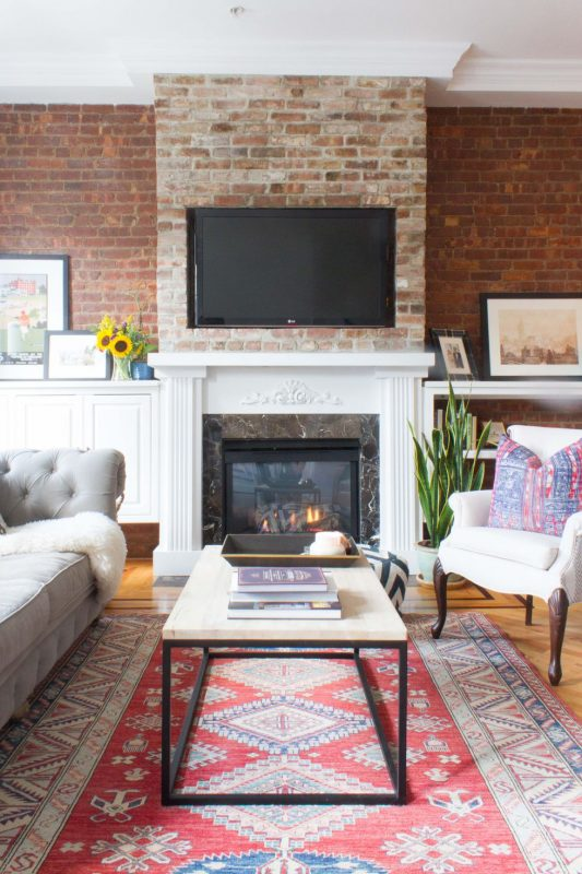 hoboken Living Room Wall Decor Ideas coffee table