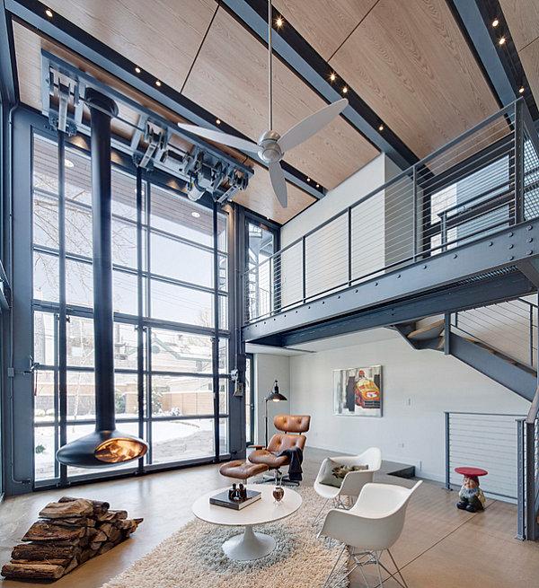 industrial living room carpet