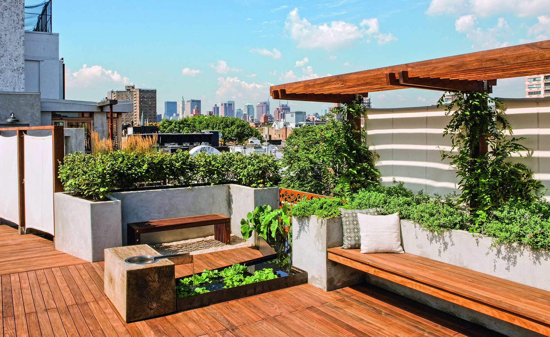 rooftop garden youtube
