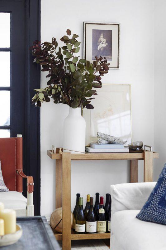 living room decor emily johnston bar cart