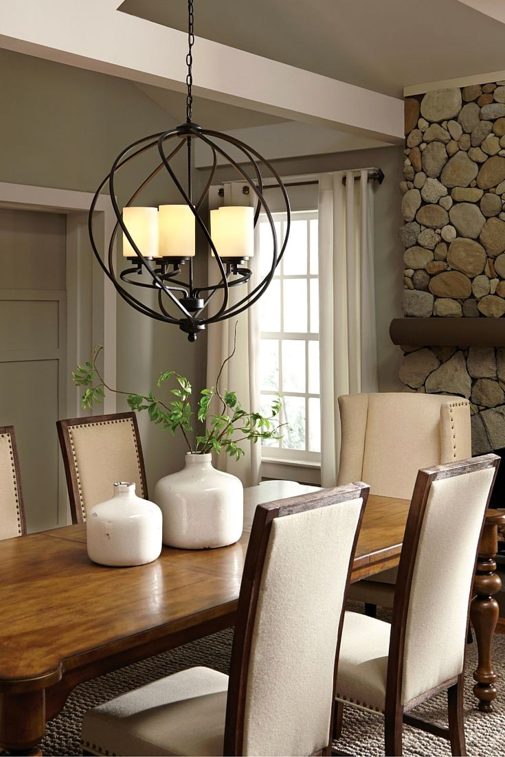 dinner table lighting ideas