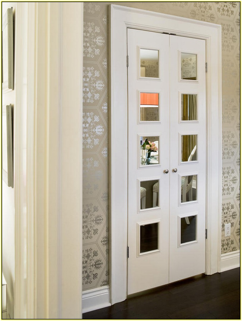 french door privacy ideas