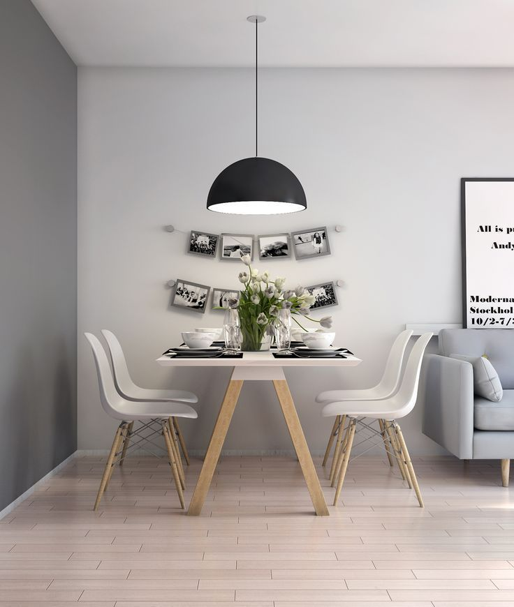 nordic style dining table