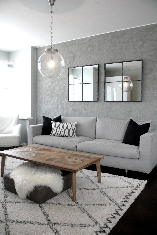 design an industrial living room