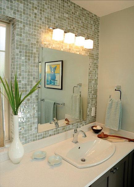 weekend makeover Bathroom Wall Decor Ideas
