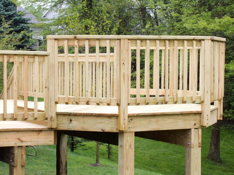 wood balcony ideas