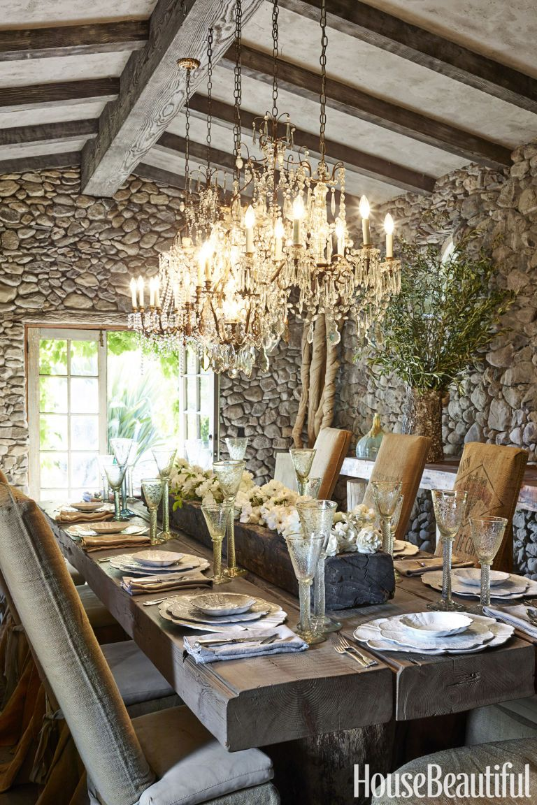 Rustic Farmhouse Dining Room Table Sets