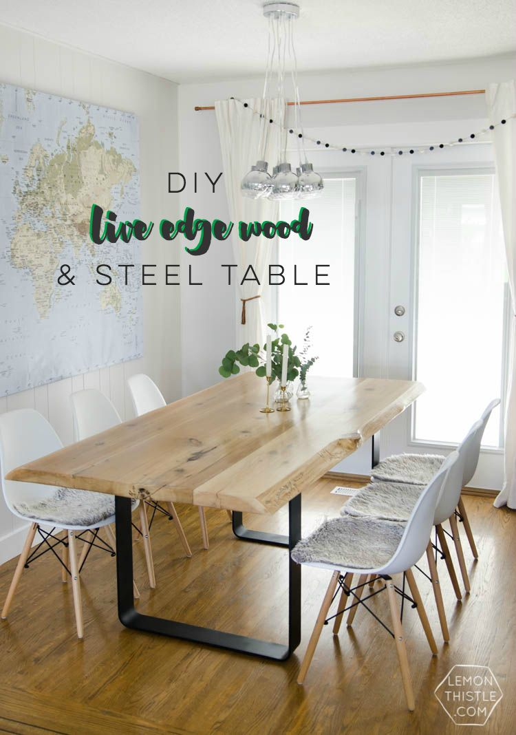 Rustic Grey Dining Room Table