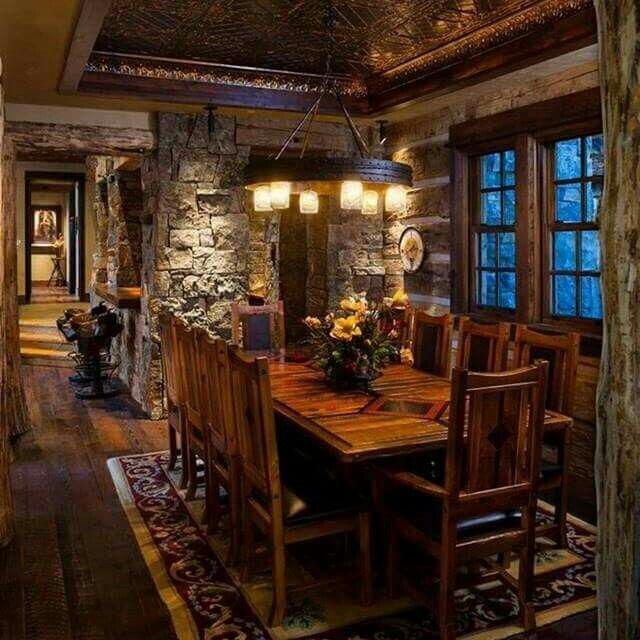 Rustic Looking Dining Room Tables