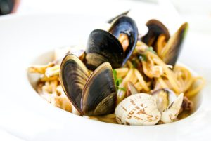 Clams are high in vitamin B12 that