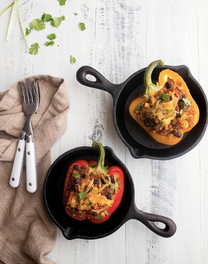 southwestern stuffed peppers recipe