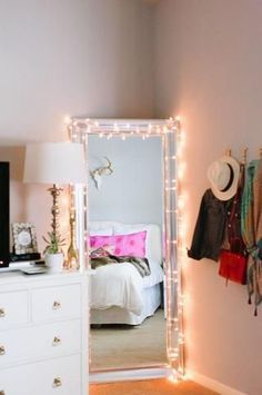 Rope Lighting Ideas Bedroom