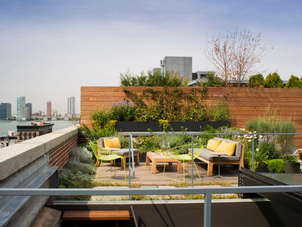rooftop garden east london