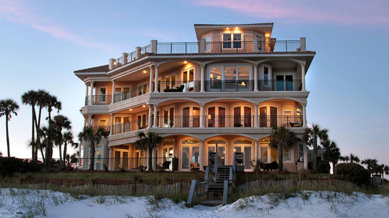 elevated florida beach house plans