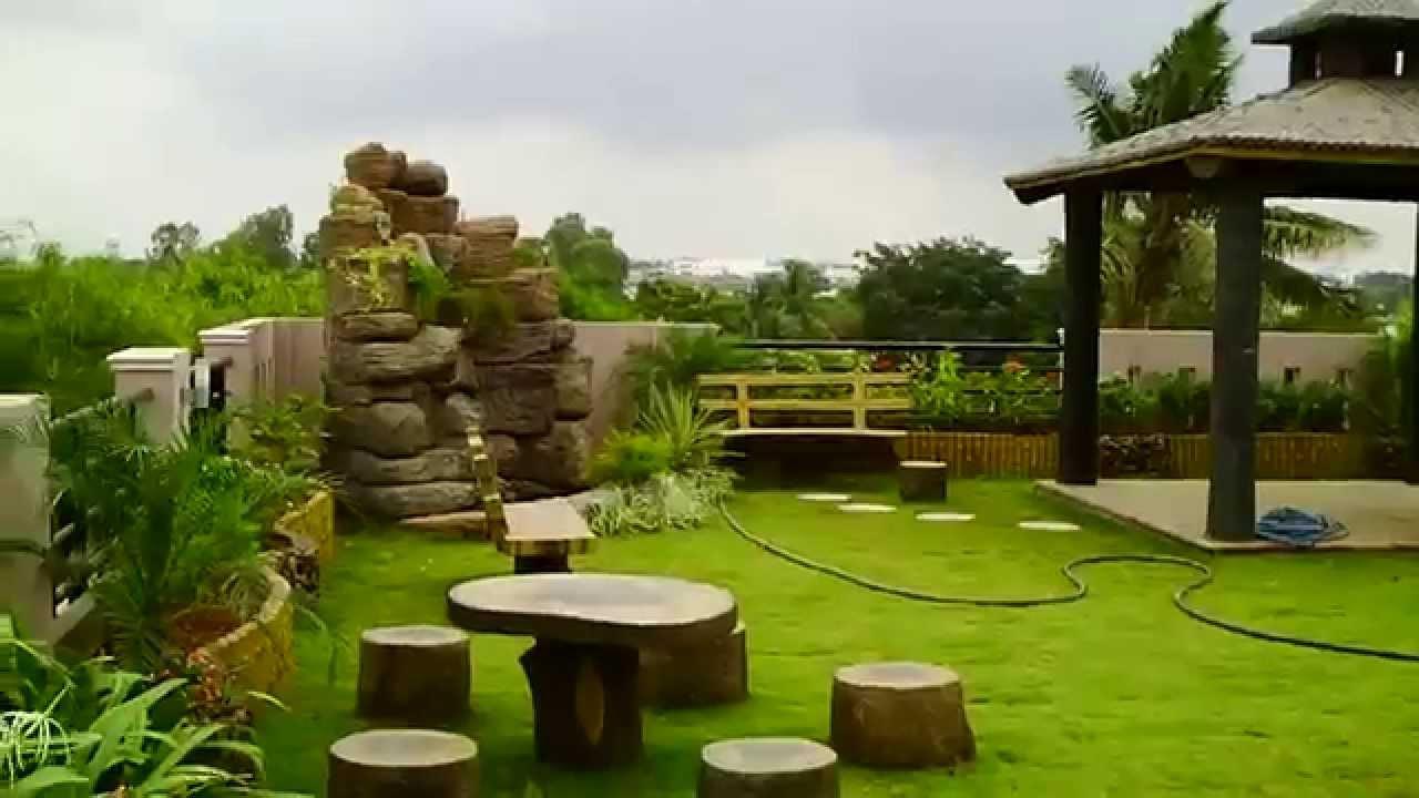 rooftop garden house plans