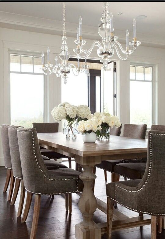 kitchen and dining room tables