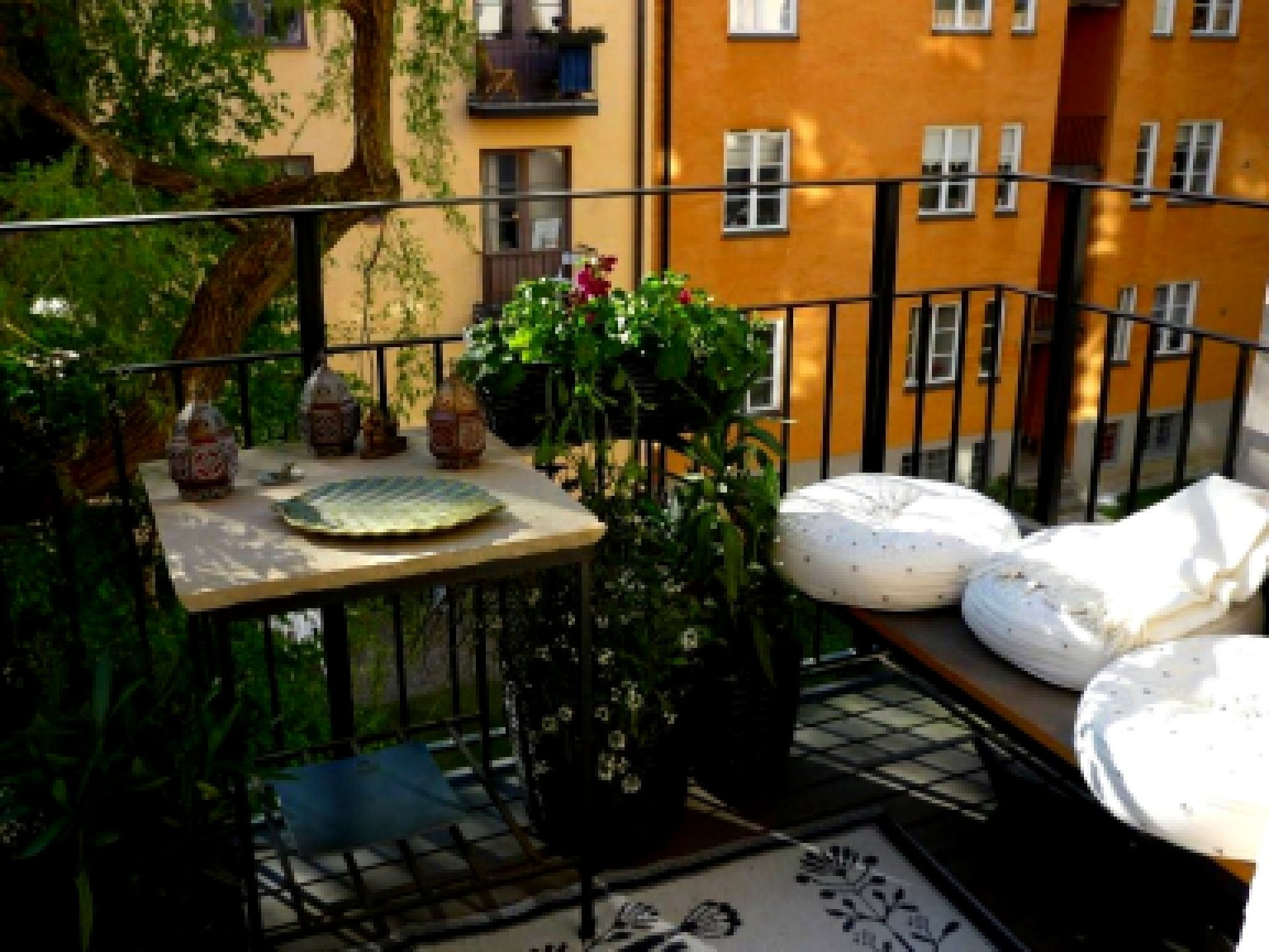 Balcony Furniture For Apartments