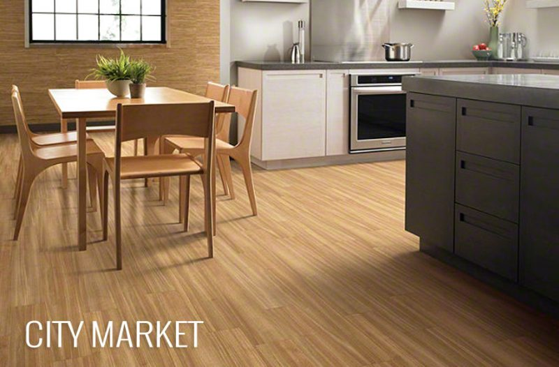 Blonde Wood (& Wood-Look) Kitchen Flooring