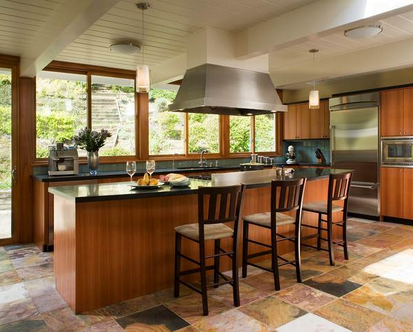 Contemporary kitchen floor ideas